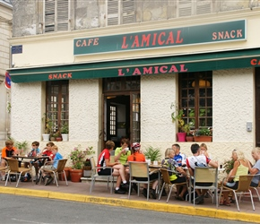 Cafe at La Fort
