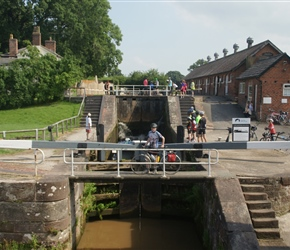 James at Bunbury Locks