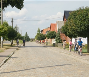 Cycling the cobbles of the former East Germany