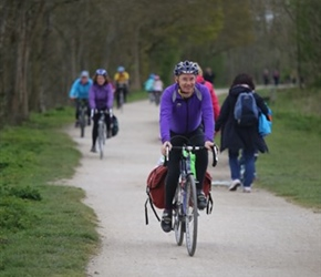 Phil on Greenway to Stratford