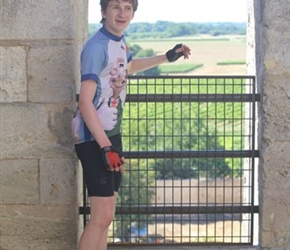 James in Abbey Tower