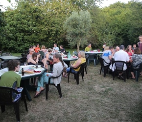 BBQ at Chateau Sentout
