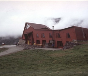 Turtago Hotel. A climbers place and a great place to spend the night