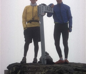 The two Robs on Sognefjellets high point
