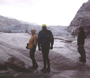 Ruth and Patrick on Glacier